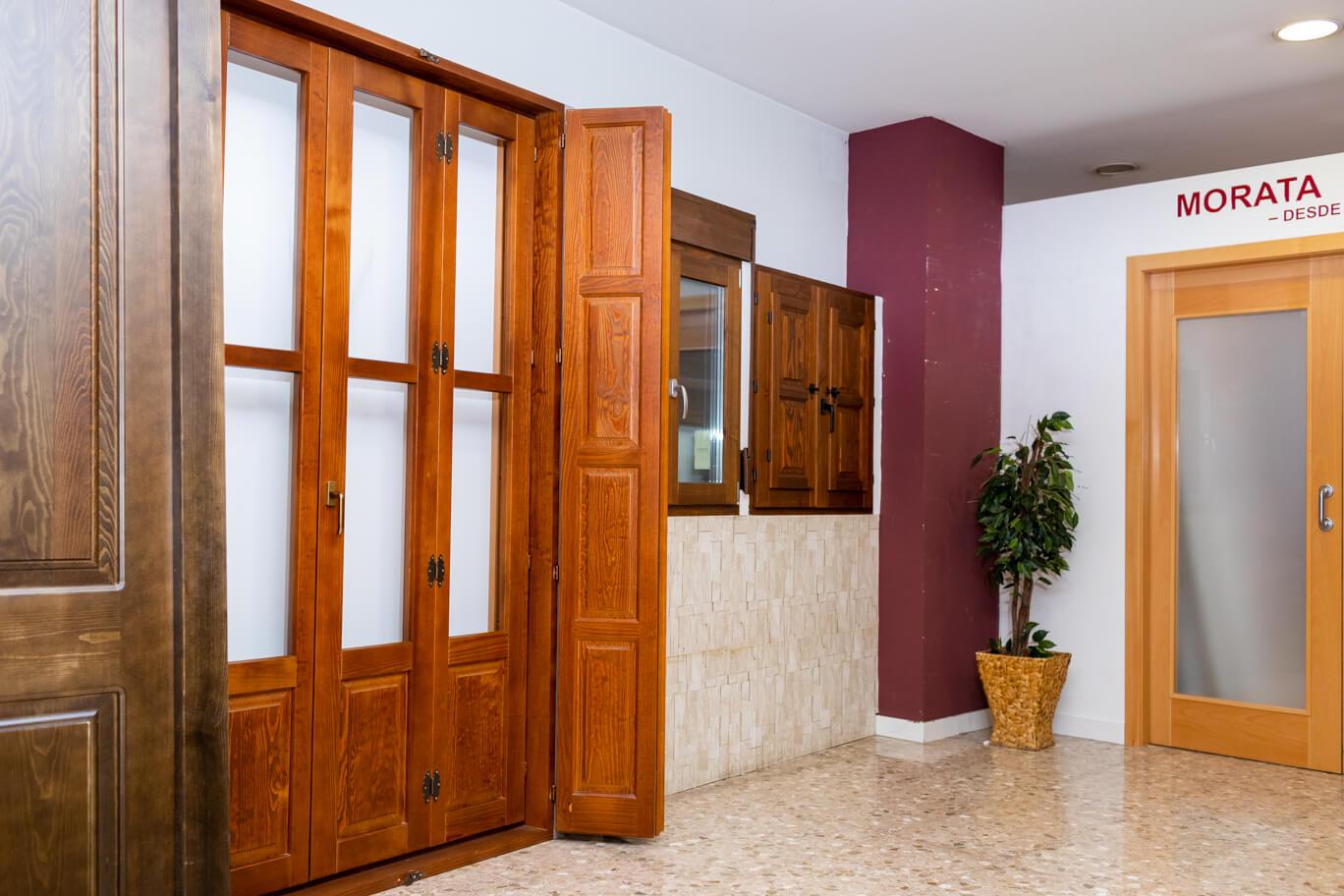 Puerta exterior Carpintería Morata